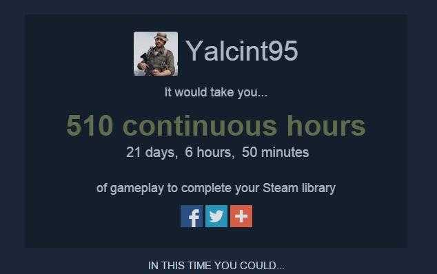 steam left