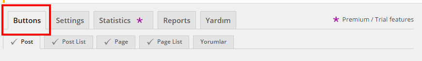 Wordpress Beğen, Oylama, Derecelendirme Eklentisi - Like Button Voting & Rating Button
