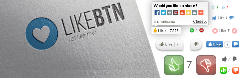 WordPress Beğen, Oylama, Derecelendirme Eklentisi – Like Button Voting & Rating