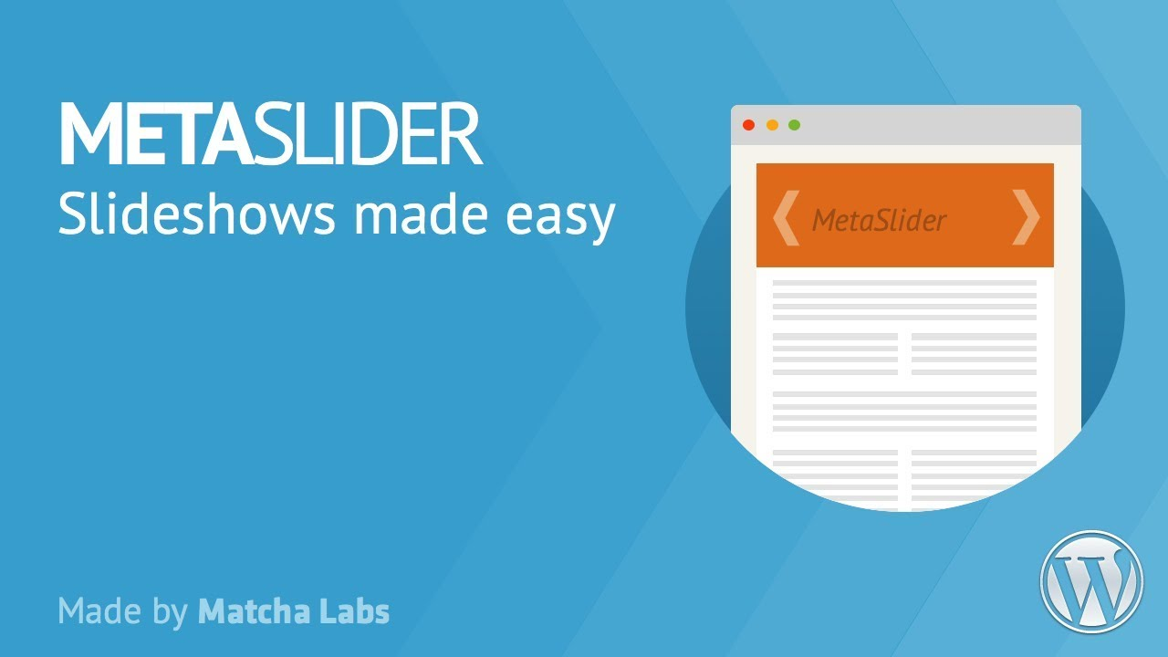 WordPress Slider Eklentisi – Meta Slider
