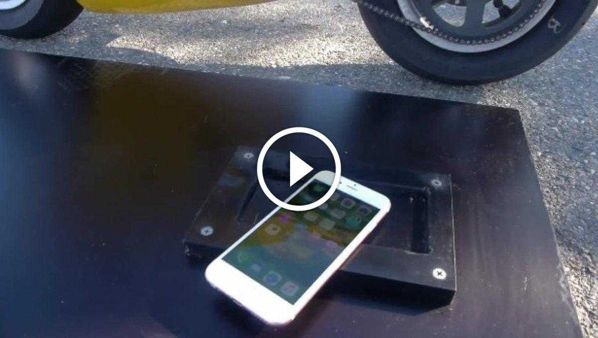 iPhone 6S Lastikle Yakma Testi [Video]