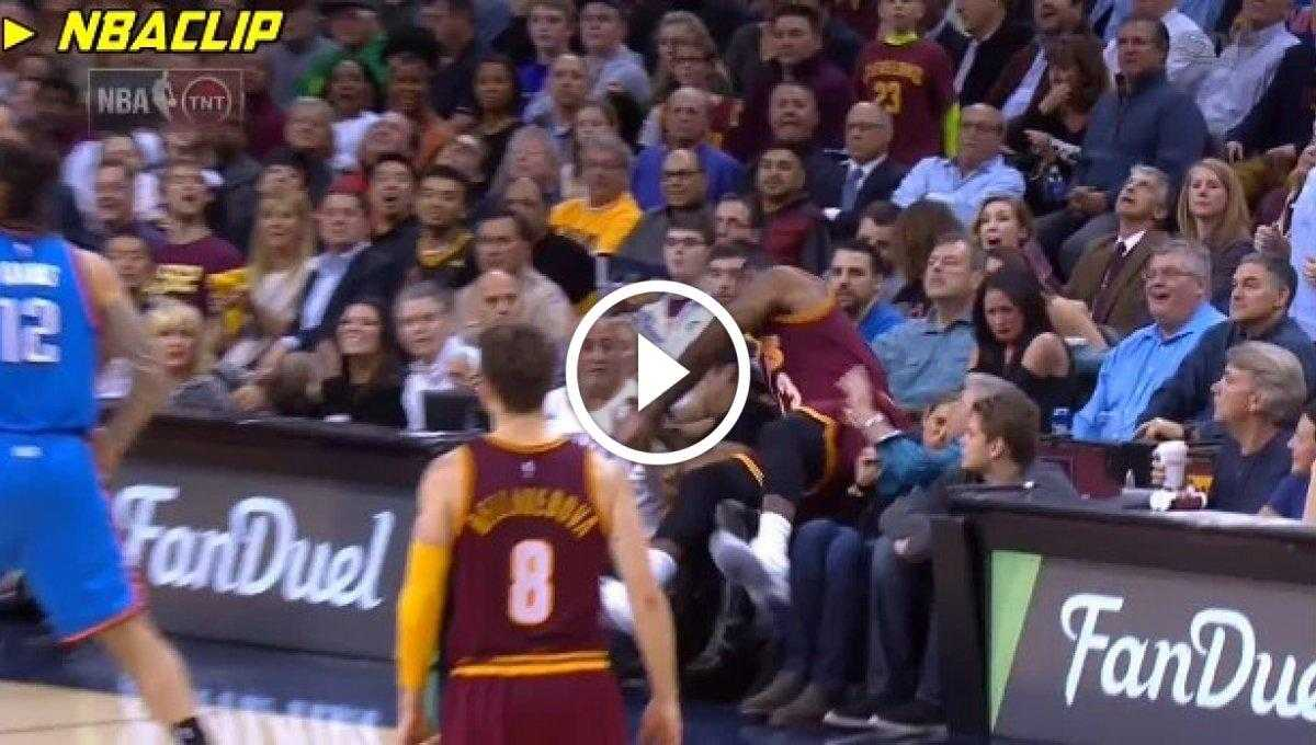 Lebron James Kadını Hastanelik Etti [Video]