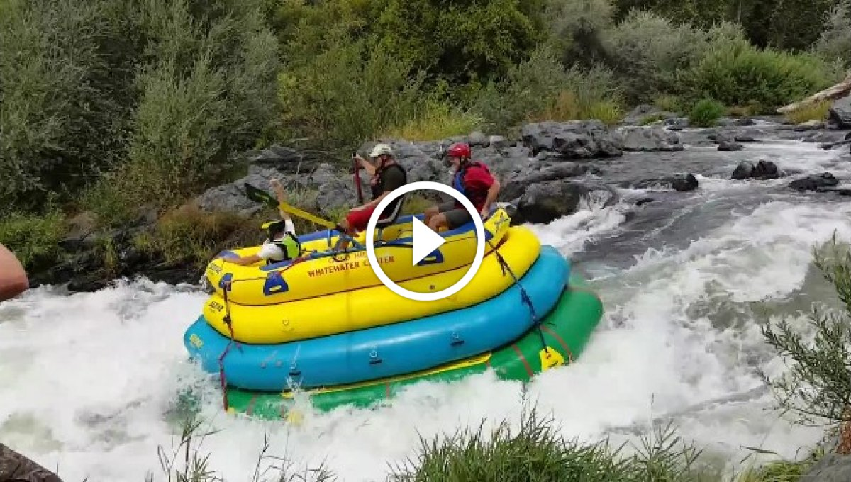 4 Katlı Rafting [Video]