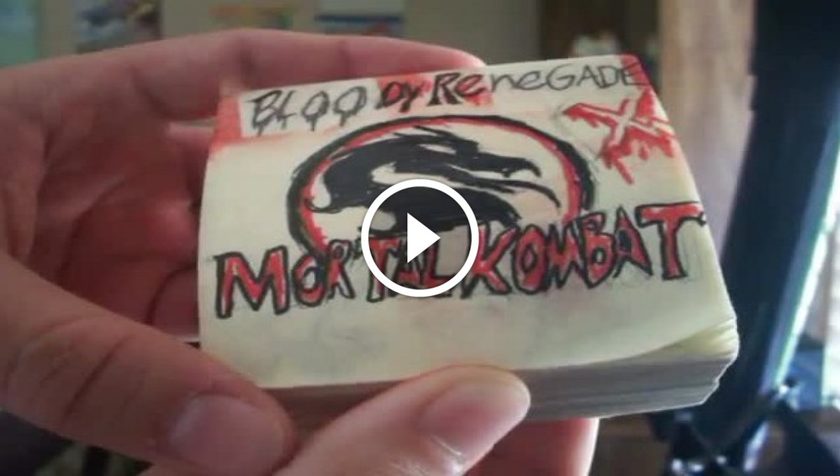Flipbook Mortal Kombat [Video]