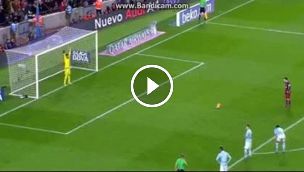 Lionel Messi Penalty & Luis Suarez Hattrick Goal – Barcelona 4-1 Celta Figo – 14_02_2016 [Video]