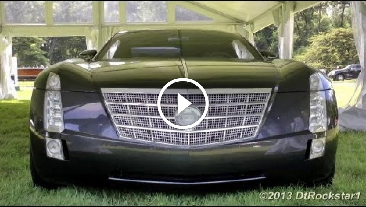 V16 Motorlu Cadillac Sixteen [Video]
