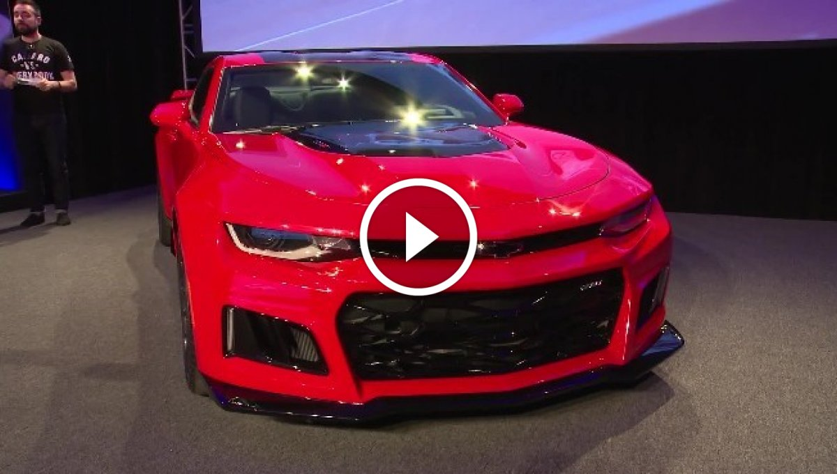 2017 Model Chevrolet Camaro ZL1