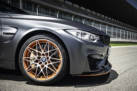 Michelin, BMW M4 GTS'in lastik sponsoru oldu