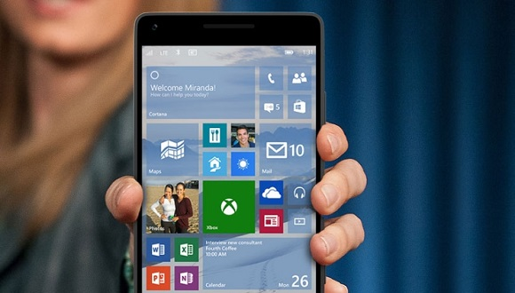 Windows 10 Mobile'a Sürpriz Destek