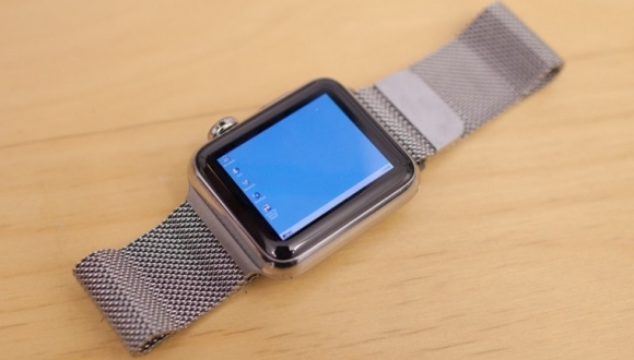 Apple Watch'a Home Windows 95 Yükledi!