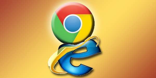 Chrome Internet Explorer'ı Kenara İtti