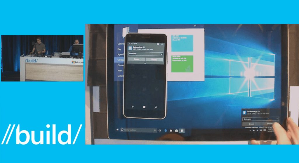 windows 10 android bildirim