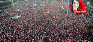 Message of the major rally in Taksim: neither military nor civil coups