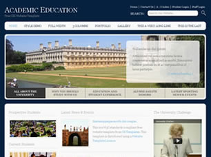 Academic Education Free HTML Templates