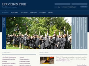 Education Time Free HTML Templates