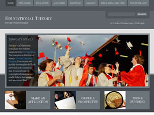 Educational Theory Free HTML Templates