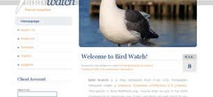 Bird Watch Web Site Tasarımı