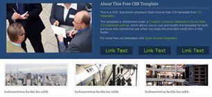BusinessBlue Free HTML Templates