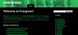 Evergreen Web Site Tasarımı