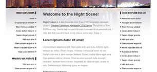 Night Scene Web Site Tasarımı