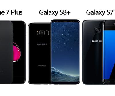 Hangisi daha iyi: Galaxy S8 Plus vs iPhone 7 Plus vs Galaxy S7 Edge