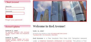 Red Avenue Web Site Tasarımı