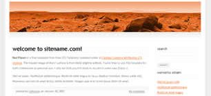 Red Planet Web Site Tasarımı