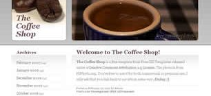 The Coffee Shop Web Site Tasarımı