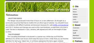 Green Community Web Site Tasarımı