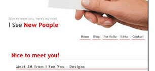 I See New People Web Site Tasarımı
