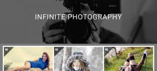 Infinite Photography : Perfect WordPress theme for photography