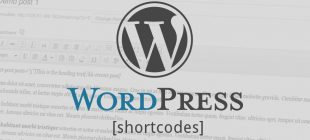 WordPress Create Shortcode