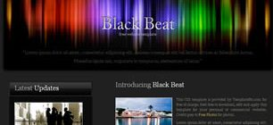 Black Beat Web Site Tasarımı