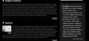 Blackboard Web Template