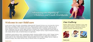 Child Care Web Site Tasarımı