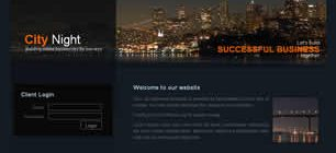 City Night Web Site Tasarımı