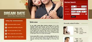 Dream Date Web Site Tasarımı