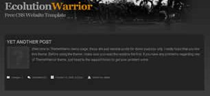 Ecolution Warrior Web Site Tasarımı
