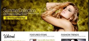 Fashion Brand Web Site Tasarımı
