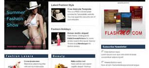 Fashion Web Site Tasarımı