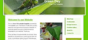 Green Day Web Site Tasarımı