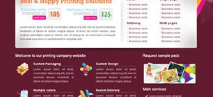 Happy Print Shop Web Site Tasarımı