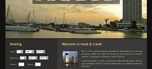 Hotel and Travel Web Template