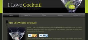 I Love Cocktail Web Site Tasarımı