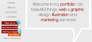 YourInspirationFolio Web Site Tasarımı