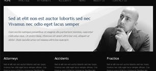 Lawyer & Attorney Web Site Tasarımı