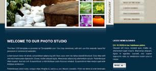 Photo Studio Web Site Tasarımı