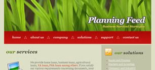 Planning Feed Web Site Tasarımı