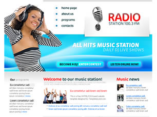 Radio Station Web Site Tasarımı