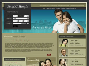 Single 2 Mingle Web Site Tasarımı